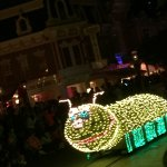 Electrical parade temporary for the summer love this parade!!!