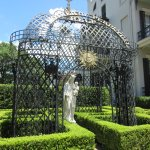 Garden District-Madonna & Canopy at Anne Rice House