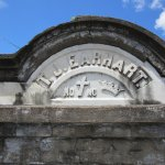 Lafayette Cemetery No. 1-No Cross-No Crown Tomb Carving
