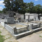 Lafayette Cemetery No. 1-Coping Tombs (burial above ground level)