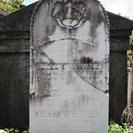 Lafayette Cemetery No. 1-Carved Memorial Stone (1860s)