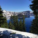 Crater Lake National Park Foto