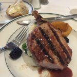 Wed special: fantastic blkberry porkchop!