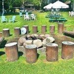 Campfire area