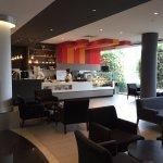 Lobby cafe.