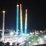 Vista del Parque de Atracciones que se encuentra al lado del Hotel