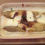 Manicotti Pasta Stuffed with Beef Cheeks