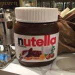 HUGE Nutella jar lol