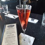 Pink Prosecco Cocktail