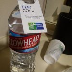 Charging 3 dollars for a water bottle! Insane rip off by the hotel
