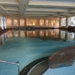Indoor heated pool with jacuzzi jets