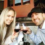 Enjoying great wine at Door 222