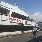 boarding supercat in cebu