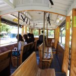Inside trolley