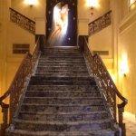 Marker granite staircase