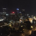Tulsa skyline at night