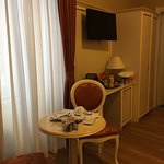 I was upgraded to triple room. Spacious. Was cleaned well everyday. Extremely friendly n helpful