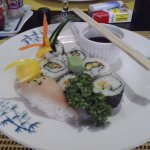 Special request for Sushi and this was what we got :)