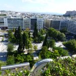 View to Syntagma Square
