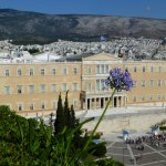 View to Greek Parliament