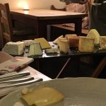 That cheese board! Yes!