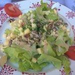 Salade à la tome de savoie