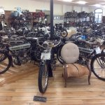 A small selection of the motorcycles
