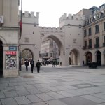 Entry to the old city centre