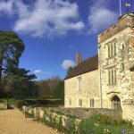 The house and grounds of Ightham Mote