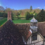 Some of the view of Ightham from the top of the tower!