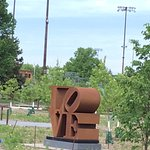 Love Sculpture in the Minneapolis Sculpture Garden.