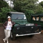 The Governors' Camp Jeep that took us for the Safari