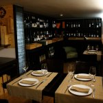 You can dine in our wine cellar