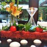 Piedmont Fassone Beef Tartare with garden flavours