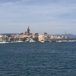 View of Alghero from the sea