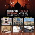 Celebrate ur Eid Holidays with Us!