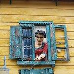 Art in El Caminito of La Boca area Buenos Aires