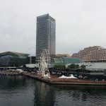 Hotel situated right on Darling Harbour