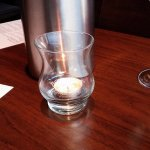 Candle Holder Bowmore Glass