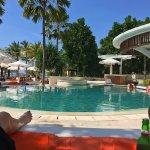 Beach club pool june 2017