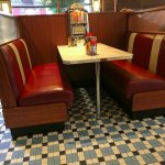booth seat