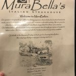 Mura Bella's Italian Steakhouse Foto