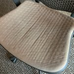 I don't want to guess what the stains are on the desk chair.
