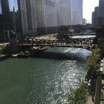 amazing view of the beautiful Chicago River