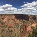 View on Spider Rock