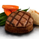Grilled US Angus Tenderloin steak