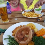 Lovely food and beautiful pub