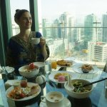 Amazing breakfast buffet with lovely views!