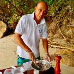 Ceviche sur une île déserte