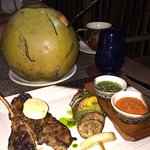 Tamarind restaurant's lamb cutlets